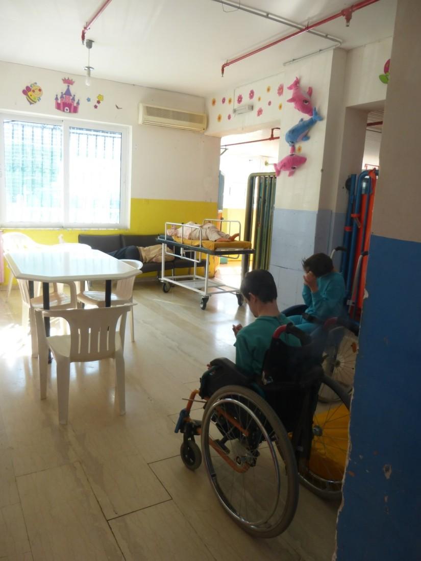 Kinder im Heim Agios Andreas