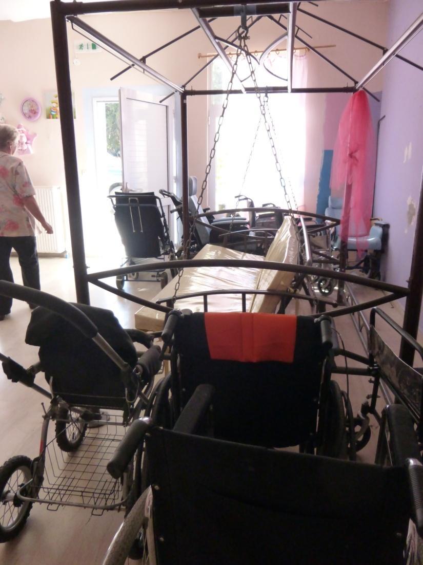 Rollstuhlversammlung